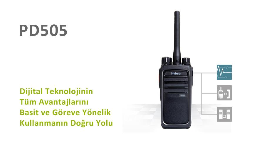 Hytera PD505 DMR El Telsizi